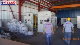 leadle furnace panel