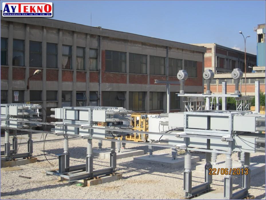 SVC capasitor system