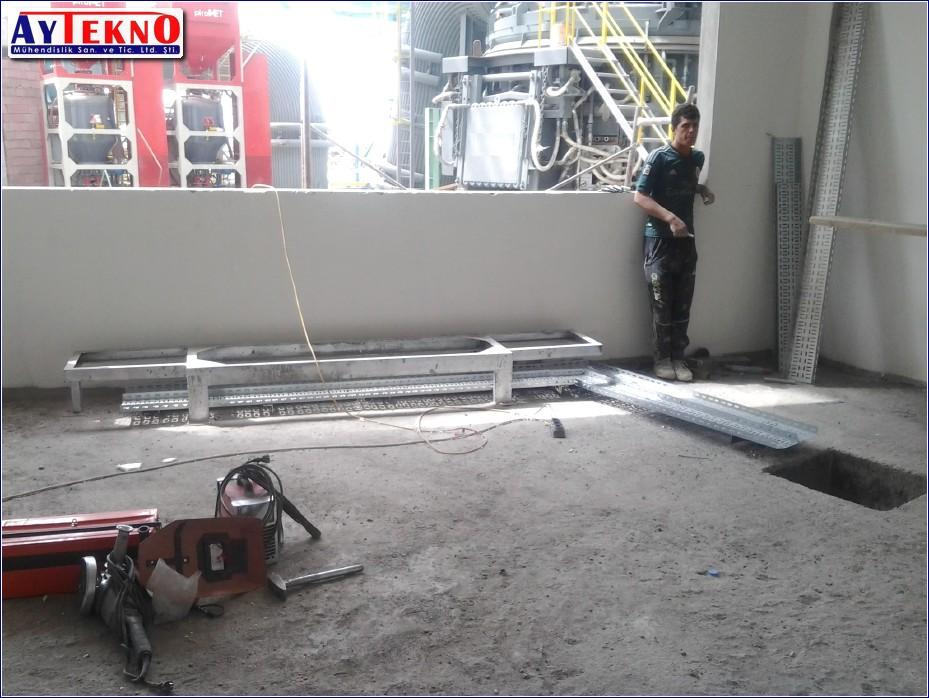 arc furnace panel