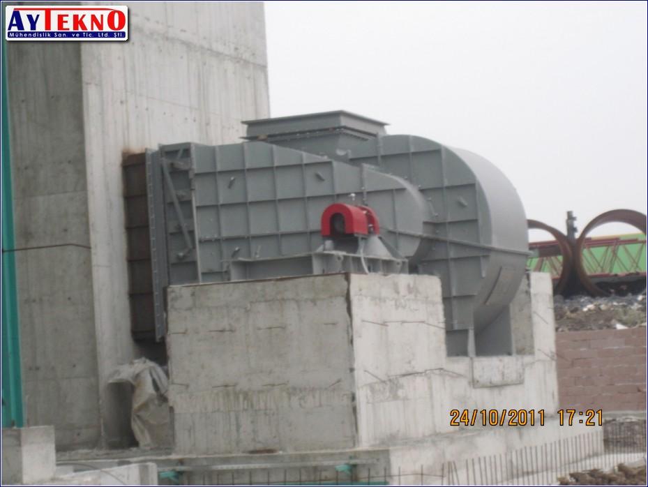 fume treatment plant mechanical assembly
