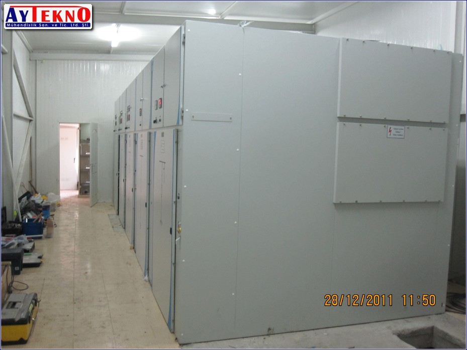 METAL CLAD cabin electrical assembly
