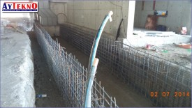 leadle furnace car rail