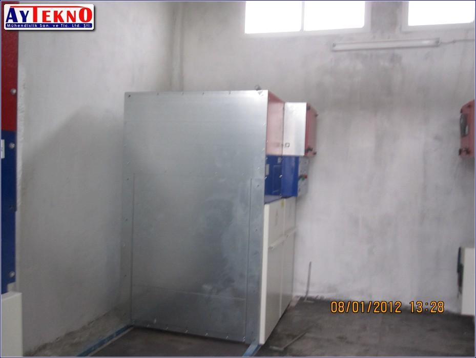 meltshop medium voltage cabin