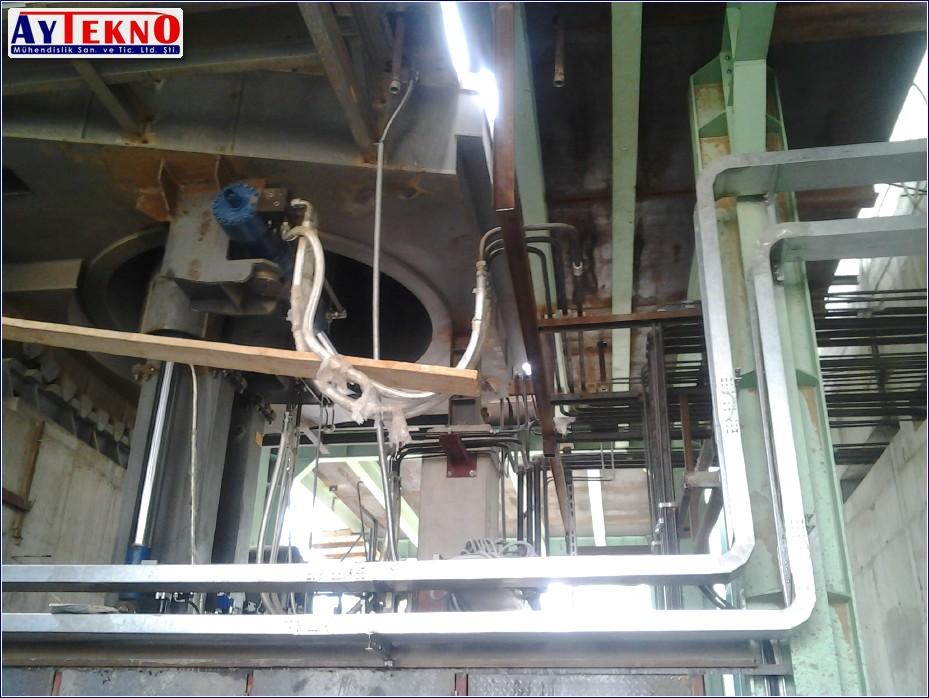 arc furnace roller