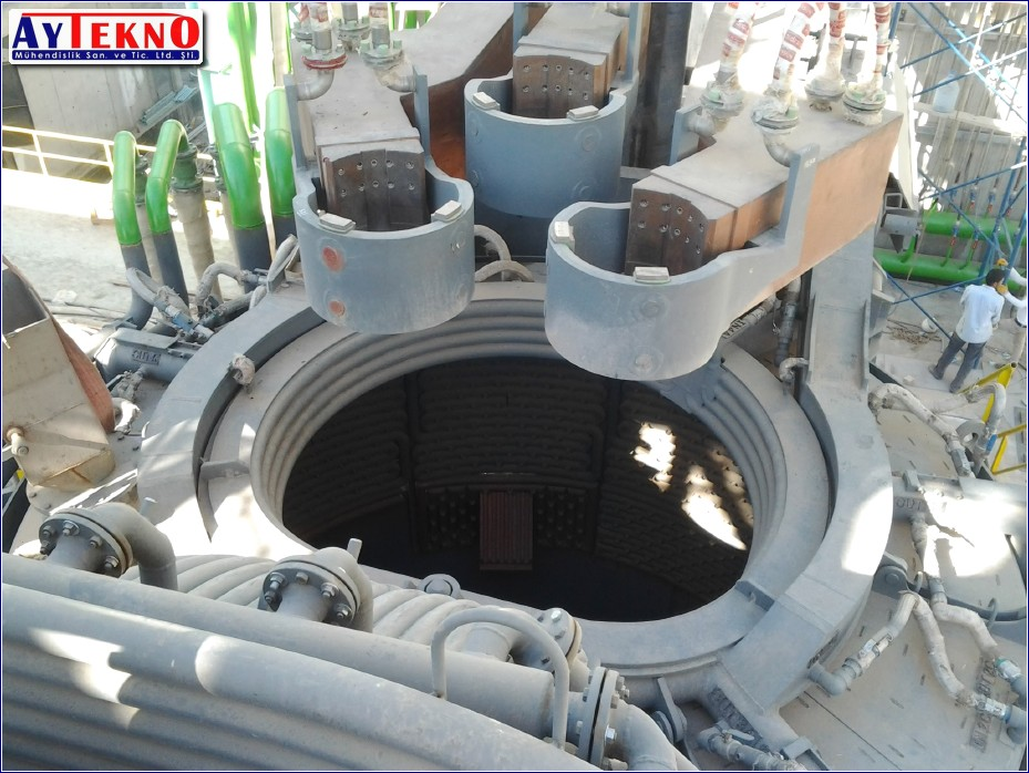 arc furnace clamp