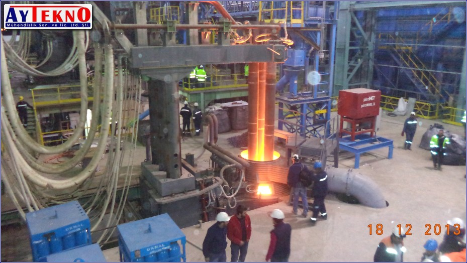 leadle furnace electrical assembly