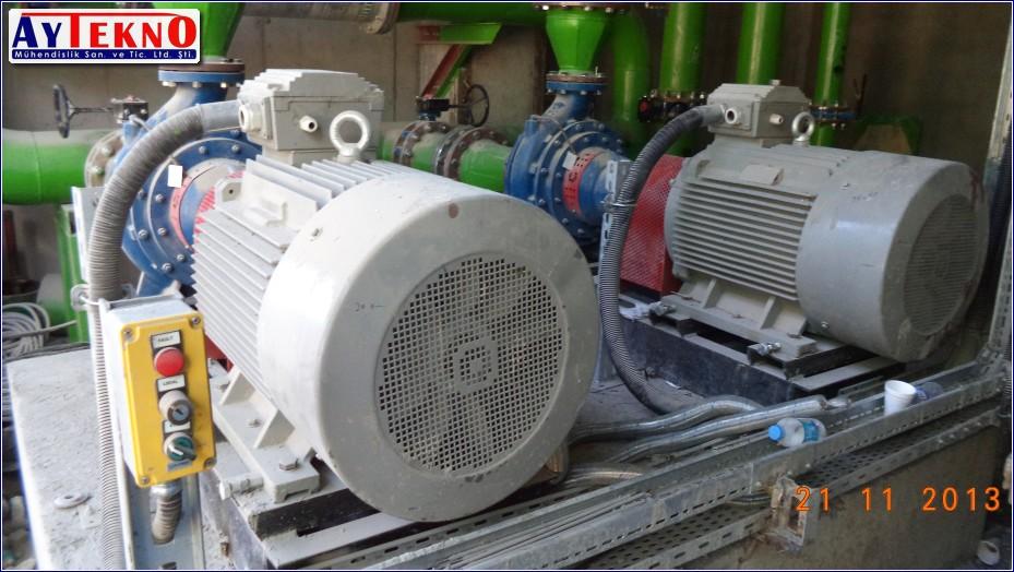 water treatment plant motors