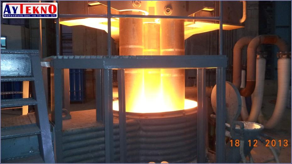 leadle furnace LF