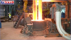 leadle furnace electrode