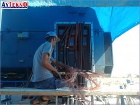 fume treatment plant 1500 KW fan motor