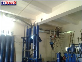 arc furnace cable tray assembly