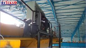 meltshop crane assembly team