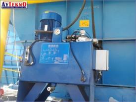 fume treatment plant hydraulic system