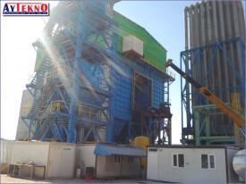 meltshop fume treatment plant