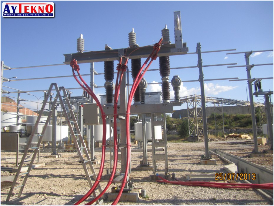 how to make medium voltage cable head