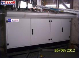 leadle furnace control panel