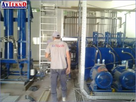 arc furnace hydraulic system