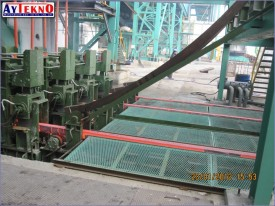 continuous casting machine assembly