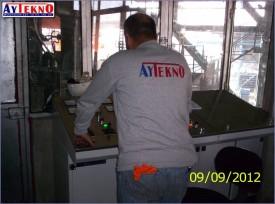 eadle furnace control desk