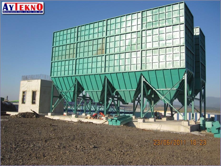 fume treatment plant system
