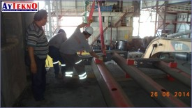 leadle furnace mechanical assembly