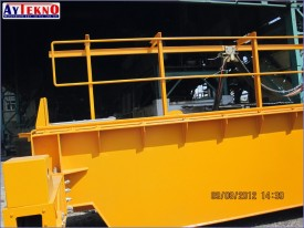 meltshop crane electrical assembly