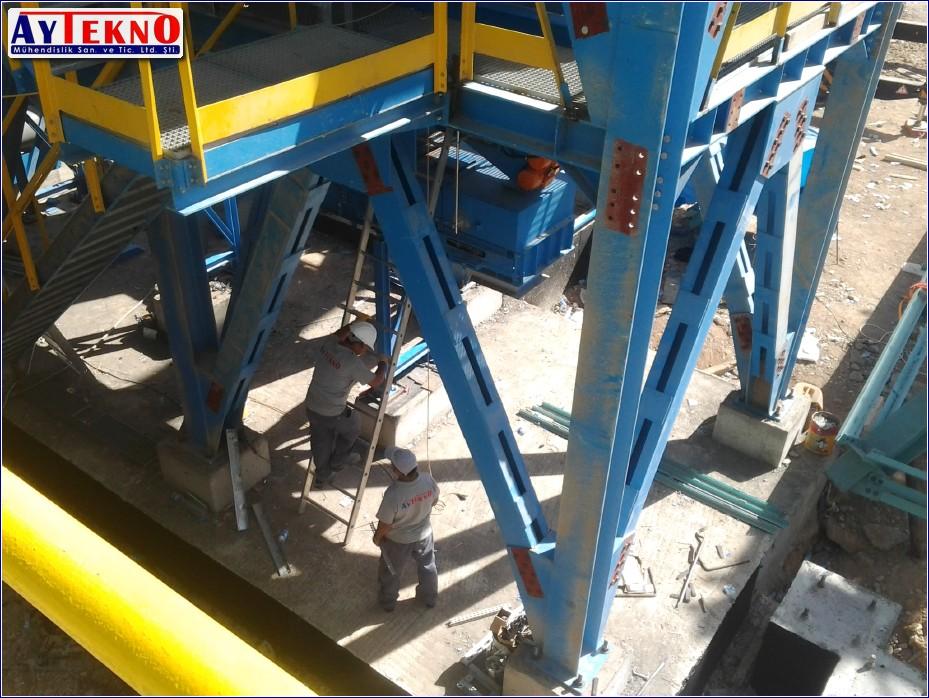 meltshop meterial handling system
