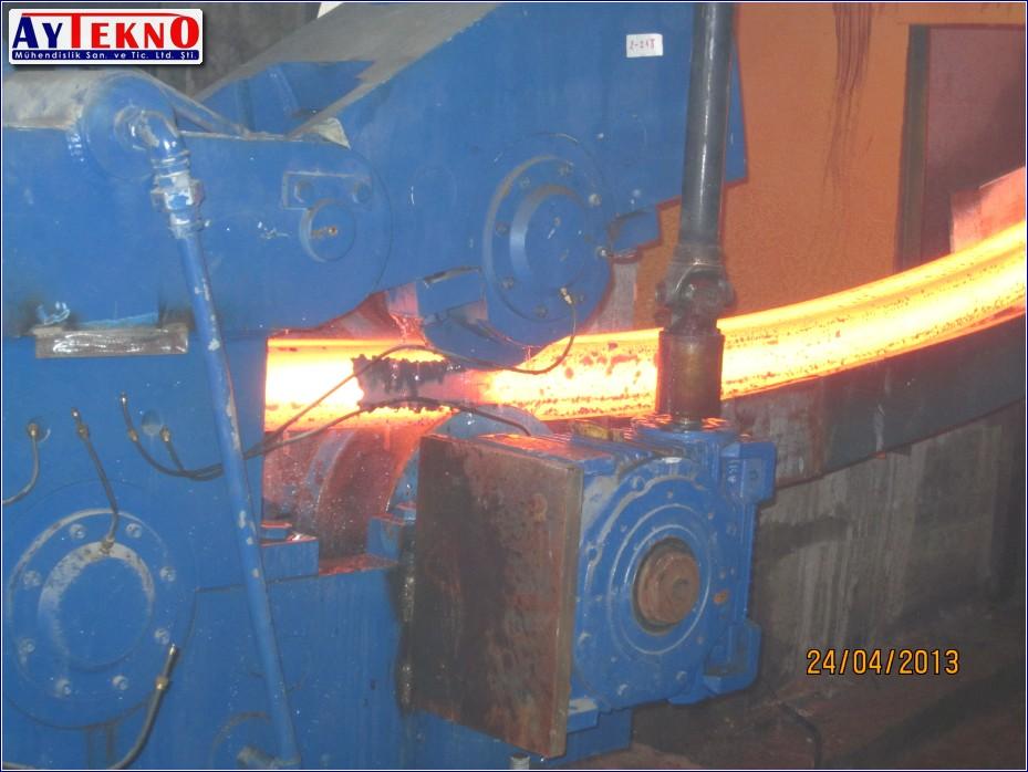 CCM withdrawel-straightenin manufacturing
