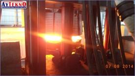 leadle furnace hot