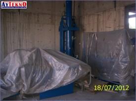 leadle furnace hydraulic