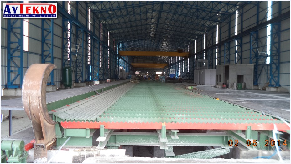 rolling mill cooling bed