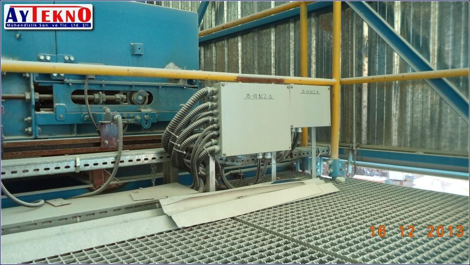 meterial handling system assembly