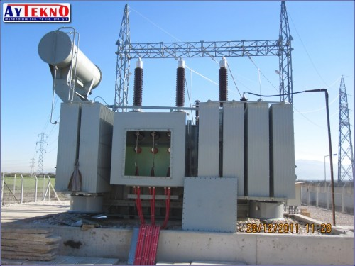 transformer center electrical assembly