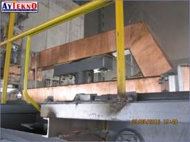 leadle furnace electrod arm