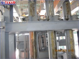 leadle furnace column