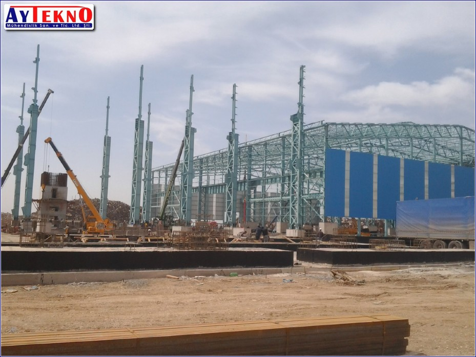 STEEL MILL INSTALLATION