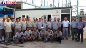 meltshop electric installation team