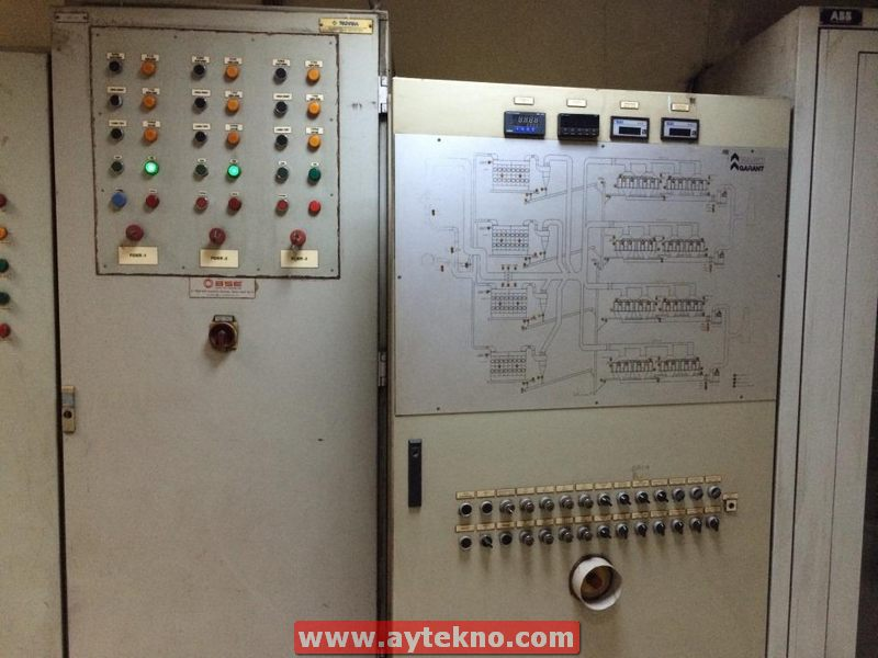 dedusting-system-control-panels